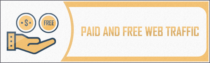 paid and free web traffic